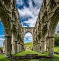 Rievaulx Abbey, North Yorkshire<br />Camera: Nikon D800 with Nikkor 16-35mm f/4 lens at 16mm<br />Exposure: 1/400s f/8 ISO-200 Hand-held